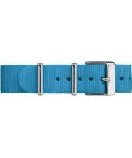 Timex TW7C07400 Weekender fairfield sininen nailonhihna